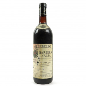 Vallebelbo 1974 Barbera d'Alba