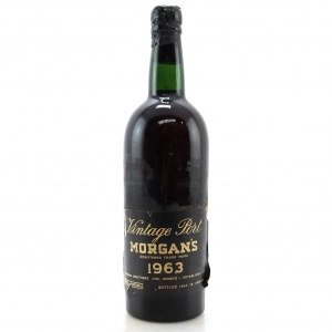 Morgan's 1963 Vintage Port