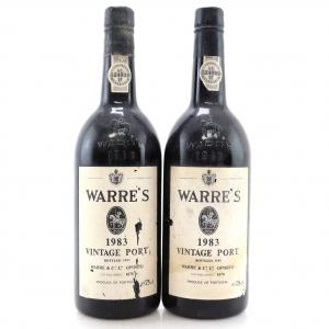 Warre's 1983 Vintage Port 2x75cl