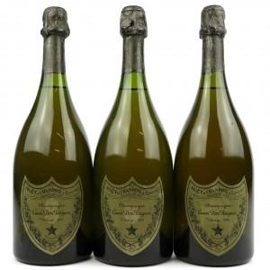 Dom Perignon 1973 Vintage Champagne 3x75cl