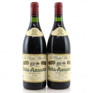Viña Ardanza 1990 Rioja Reserva 2x75cl