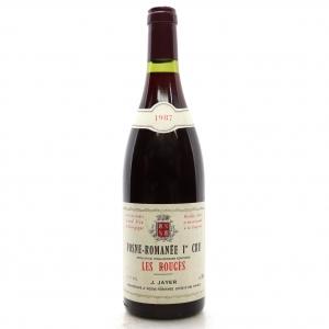 J.Jayer Les Rouges 1987 Vosne-Romanee 1er-Cru