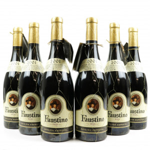 Faustino Edicion Especial 2001 Rioja Reserva 6x75cl