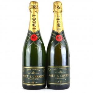 Moet & Chandon 1988 Vintage Champagne 2x75cl