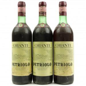 Petriolo 1985 Chianti 3x75cl