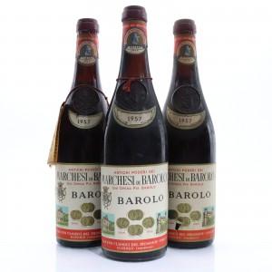 Marchesi Di Barolo 1957 Barolo 3x73cl