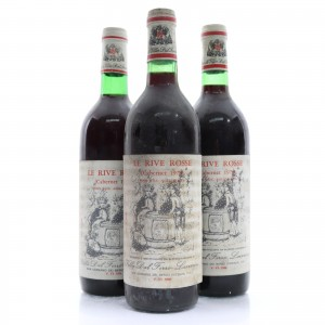 Villa Dal Ferre Le Rive Rosse Cabernet 1972 & 1978 Colli Berici / 3 Bottles