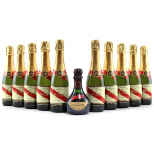 Mumm Cordon Rouge Brut NV Champagne 10x37.5cl AndMoet& ChandonPetite Liquorelle 20cl