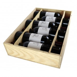 Le Dome 2008 St-Emilion 6x75cl / Original Wooden Case