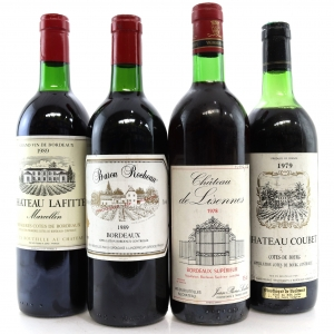 Assorted Bordeaux Wines 4x75cl