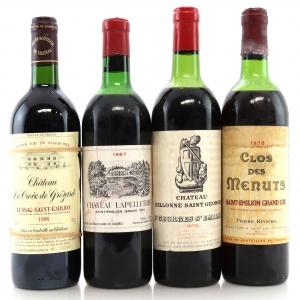 Assorted St-Emilion Wines 4x75cl