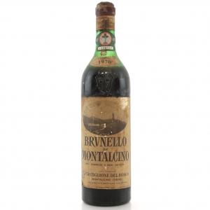 Castiglione Del Bosco 1970 Brunello di Montalcino