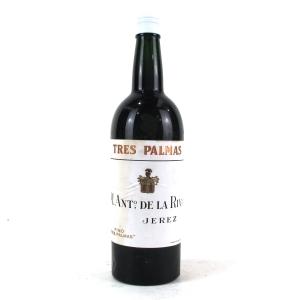 "M.Ant. De La Riva ""Tres Palmas"" Fino Sherry Circa 1970s"
