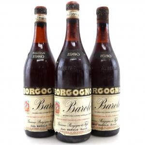 Borgogno 1980 Barolo 3x75cl