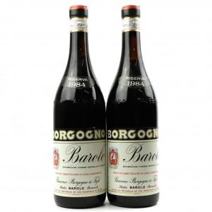 Borgogno 1984 Barolo Riserva 2x75cl