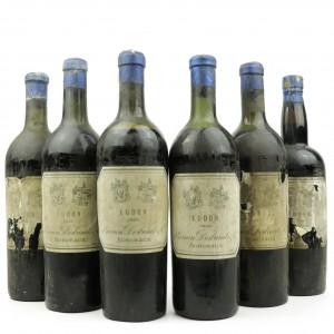 De Gernon Desbarats 1929 Ludon / 6 Bottles