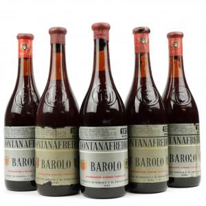 Fontanafredda 1971 Barolo 5x72cl