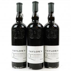 Taylor's Quinta De Vargellas 1996 Vintage Port 3x75cl