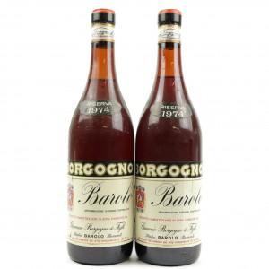 Borgogno 1974 Barolo Riserva 2x75cl
