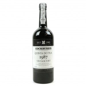 Cockburn's Quinta Do Tua 1987 Vintage Port
