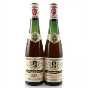 Deinhard Bernkasteler Graben Spatlese 1957 Mosel / 2 Half Bottles