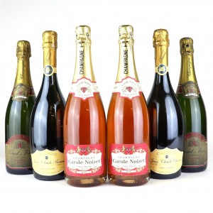 Assorted Brut & Rose NV Champagne 6x75cl