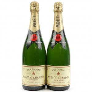 Moet & Chandon Brut NV Champagne 2x75cl