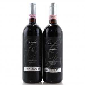 Gagliasso Torriglione 2001 & 2004 Barolo 2x75cl
