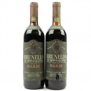 S.Nardi 1984 Brunello di Montalcino 2x75cl