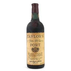 Taylor's 20 Year Old Tawny Port / Bottled 1973