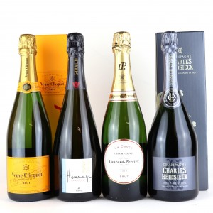 Assorted Brut NV Champagne 4x75cl