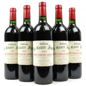 Ch. La Grave Figeac 2000 St-Emilion 5x75cl
