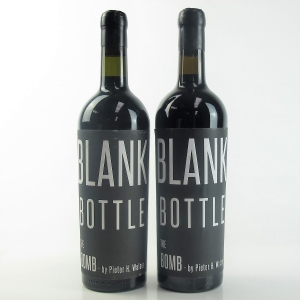 "Blank Bottle ""The Bomb"" 2010 Stellenbosch 2x75cl"