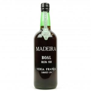 Veiga Franca Solera 1930 Boal Madeira