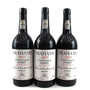 Graham's 1977 Vintage Port 3x75cl