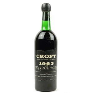 Croft 1963 Vintage Port