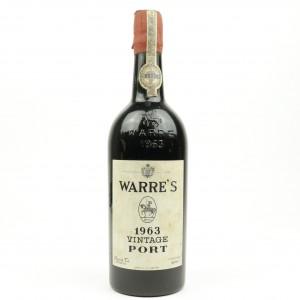 Warre's 1963 Vintage Port