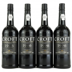 Croft 1996 LBV Port 4x75cl