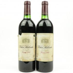 Vina Salceda 1989 Rioja Reserva 2x75cl