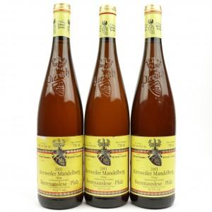 """Pieroth""""Kirrweiler Mandelberg"""" Ortega Beerenauslese2001 Pfalz 3x75cl"""