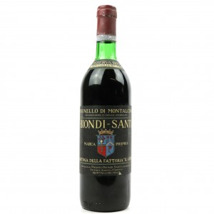 Biondi-Santi 1975 Brunello di Montalcino Riserva