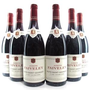 """Faiveley """"Les Pruliers"""" 2012 Nuits-Saint-Georges 1er-Cru 6x75cl"""