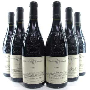 Dom. Giraud 2012 Chateauneuf-Du-Pape 6x75cl