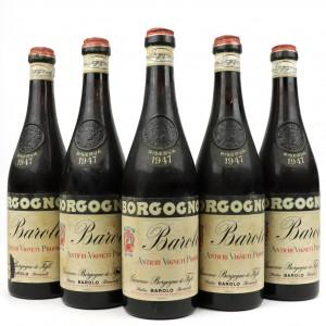 Borgogno 1947 Barolo Riserva 5x70cl