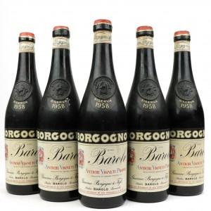Borgogno 1958 Barolo Riserva 5x72cl