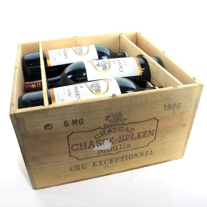 Ch. Chasse-Spleen 1996 Moulis-En-Medoc 6x150cl / Original Wooden Case