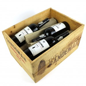 Sandeman 1985 Vintage Port 11x75cl / Original Wooden Case