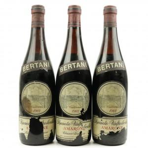 Bertani Recioto Della Valpolicella 1962 Verona Classico Superiore 3x72cl