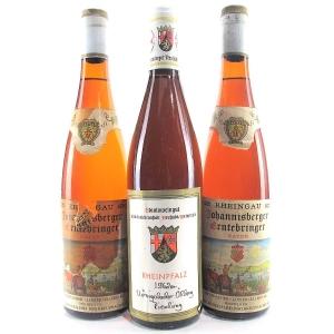 Assorted Wines 1962 Rhein 3xBottles