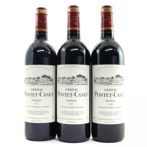 Ch. Pontet-Canet 1995 Pauillac 5eme-Cru 3x75cl